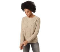 Pullover, Woll-Anteil, Strick-Muster, für Damen, M