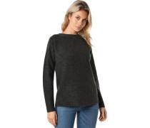 Pullover, überschnittene Schulter, Wollanteil, für Damen