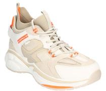 Sneaker, Clunky Style, Veloursleder-Details,