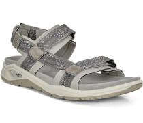 Sandalen, Wechselfußbett, Klettverschluss,