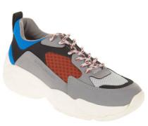 XL-Sneaker Retro-Look Schnürung
