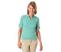Poloshirt Halbarm Streifen Baumwolle