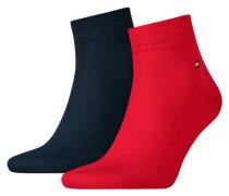 Socken 2er-Pack uni
