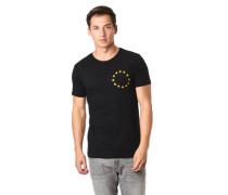 T-Shirt Sterne Foto-Print hinten reine Baumwolle