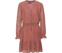 Kleid mit Print, altrosa, 34