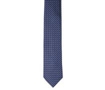 Krawatte reine Seide geometrisches Muster
