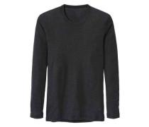 Langarm-Shirt aus Wolle und Seide Wool & Silk