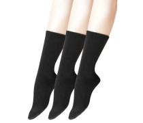 """Socken """"Cosy Wool"""", 3er-Pack"""