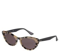 """Sonnenbrille """"RB4314N 125139"""", Filterkategorie 2, Cateye-Stil"""