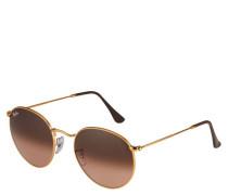 """Sonnenbrille """"RB 3447 9001A5 ROUND METAL"""", rund, Farbverlauf"""