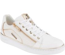 Sneaker, angedeutetes Lochmuster,