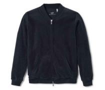 Jacke mit Reißverchlu Velour Favourite Trend 5