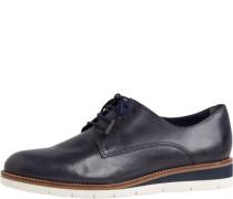 Schnürschuhe, unifarbenaufsohle mit Kontrastfarbe, sehr weiches Fußbett,