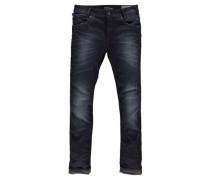"Jeans ""Russo"" Tapered Shelter Denim dark used"