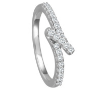 Ring 5 mit  Diamanten zus. ca. 020 ct.