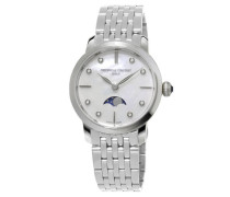 uhr Slimline Ladies Moonphase FC-206MPWD1S6B