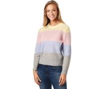 Pullover, Colorblocking, für Damen,