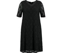 Kleid, Spitze, Kurzarm, Reißverschluss,