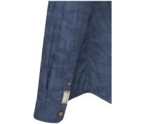 Casual-Hemd modern fit Langarm Button-Down-Kragen Jacquard Core 3XL