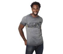 T-Shirt Rundhalsausschnitt geometrischer Print
