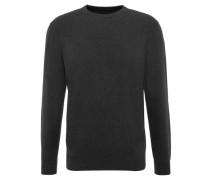 Pullover uni Rundhalsausschnitt Bündchen
