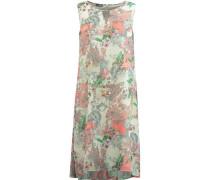 Kleid, Reißverschluss, Schlüsselloch-Ausschnitt,