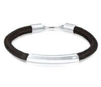 Armband Haken Basic Textil 5 Sterling Silber