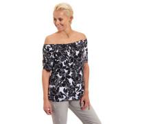 T-Shirt Carmen-Ausschnitt Halbarm