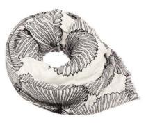Schal Blätterprint