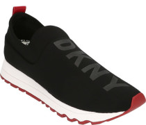 Sneakerogo auf Vorderblatt, Zugschlaufe in Kontrast-Farbe, Profilsohle, für Damen
