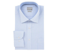 Businesshemd gestreift Kent-Kragen bügelfrei