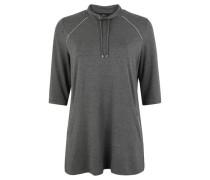 Shirt, 3/4-Arm, Glitzer-Paspeln, Tunnelzug,