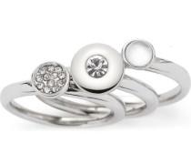 "Ring Set Alexia ""016513"", Edelstahl"