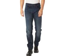 """Jeans """"Hatch""""lim Fitow Waist, Kontrastnähte, für Herren, dunkel, W33/L32"""