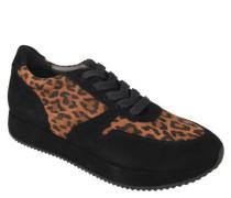 """Sneaker """"Fernanda"""" Veloursleder Plateau-Sohle"""
