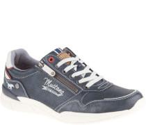 Sneaker, Schnürung, Kontrast-Material, Reißverschluss seitlichogo, aufwändig,