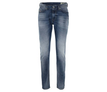 """Jeans """"Thommer""""lim Skinny Fit, Used-Waschungtretch-Anteil"""