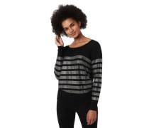 Pullover, Strass-Streifen, Rundhalsausschnitt