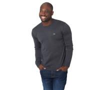 Pullover, Woll-Anteilarken-Patch, Rippbündchen, für Herren