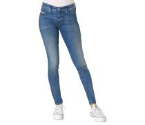 """Jeans, Slim Fit, """"Slandy"""", washed Out"""
