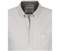 Casual-Hemd regular fit Langarm Button-Down-Kragen Streifen Core XL