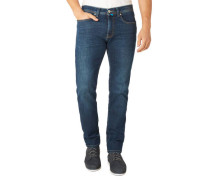"""Jeans """"Lyon"""" Tapered Fit Stretch Waschung"""