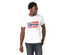 T-Shirt Logo-Print Rundhalsausschnitt