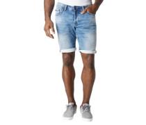 """Jeans-Shorts """"Savio"""", Slim Fit, Kontrastnähte"""