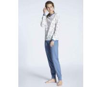 Pyjama mit Bündchen Cosy Jersey Fun