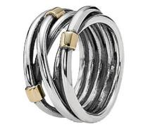 """Verschlungener Ring """"190383"""", 925er , 56"""