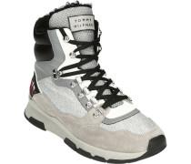 """Winterstiefeletten """"Sparkle Sporty Boot"""", Veloursleder, Glitzer-Details,"""