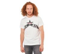 T-Shirt Marken-Schrift-Print Baumwolle