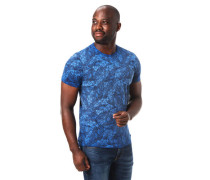T-Shirt Allover-Print Baumwolle