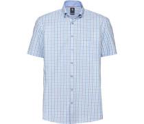 Business Hemd 1/2 Arm Button-Down Modern Fit bügelfrei /weiß
